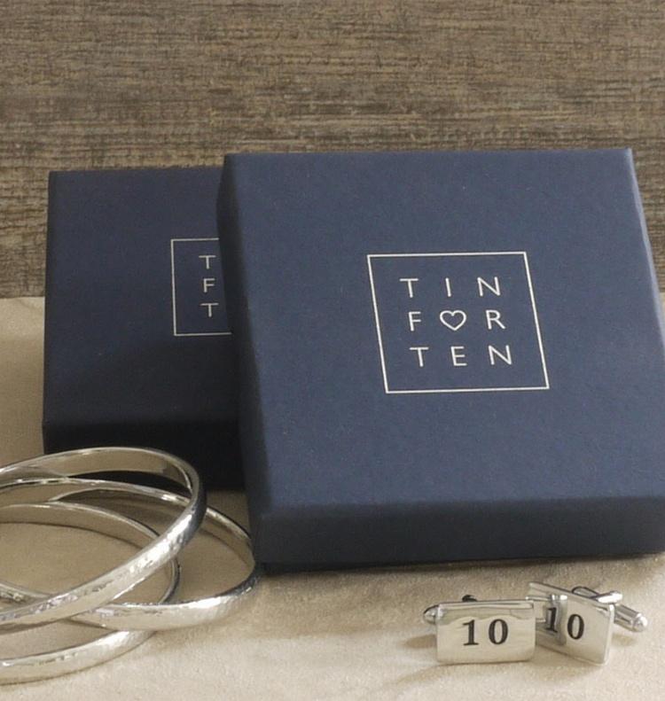 Luxury Gift Presentation Boxes Blog 10 Year Anniversary Tin