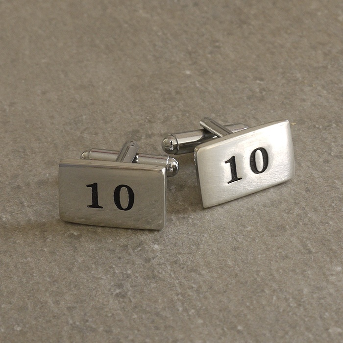 Cornish Tin Number 10 Cufflinks