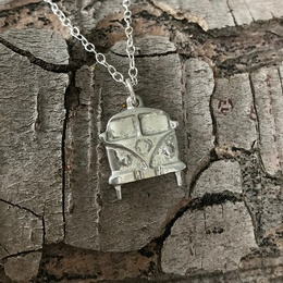 Camper Van Necklace
